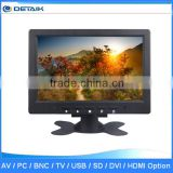 DTK-0708C Factory Supply 7 Inch LED Monitor with AV VGA BNC Input                                                                         Quality Choice