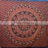 Yoga Tapestry Wholesale Indian Printed tapestry Mandala bed Sheets Round Mandala Tapestries