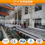6063 T3-T8 0.8-1.4mm aluminum extruded for Awning Windows with fluocarbon coating spraying finish