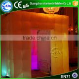 2016 Hot Sale LED Inflatable Photo Booth, Inflatable Cube Tent for Wedding