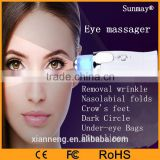 Handheld electric vibrating facial massager beauty personal care eye anti-wrinkle massage