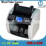 Mixed-Denomination & Multi-Currencies Counting Machine/Money Counter/Bill Counter with High Accuracy