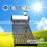 solar water heaters with assistant tank and heat exchange, 1500W electrical heating element / 2500W Resistance Heater