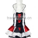 queen of hearts party sexy cosplay costumes