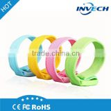 Invech best selling item 2016 new products promotion custom shining reflective slap wrist band
