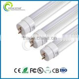 AC85-277V LED T8 tube 0.6m/1.2m/1.5m/2.4m LED T8 Tube Light for 9w 18w 22w 36w 40w 48w T8