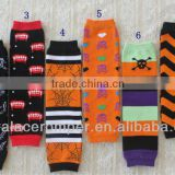 Sales Promotion!Halloween chevron legwarmer Wholesale adorable legwarmer for baby in Stock