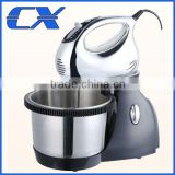 300W Kitchen Professional Stand Mixer With Rotating Stainless Steel Bowl For Baking Cake ABS Plating High Quality Stand Mixer