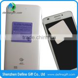 Custom Sticky Mobile Phone Microfiber Self Adhesive Screen Cleaner