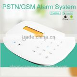 New OEM/ODM GSM home safe alarm system with APP/ SMS remote control by smartphone,On IOS/Andriod for burglar alarm system