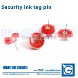 Eas Round ink tag pin clothing stores anti-theft eas tag ink pin security hard tag ink pins
