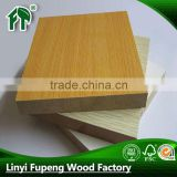 melamine paper waterproof mdf board for decoration furniture