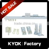 KYOK New design alumnium curtain track and rails, high quality curtain track runner ,curtain track accessories wholesale