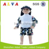 2015 Hot Sale Alva Radiation Protection Baby Suit UPF 50+ Clothes with Sun Protection Baby Suit