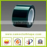Temperature green silicone paint spray adhesive tape for Masking used