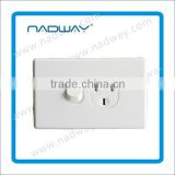 household wall swtch for civil use 6gang wall switch wall switch button 15A 250V socket and plug