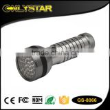Onlystar GS-8066 factory 3*AAA dry battery uv flashlight for pet urine detector led uv nail lamp