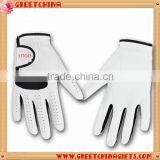 Sports accessories white suede leather golf gloves                                                                         Quality Choice