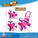 3 in 1 multi-function kid car push handle kid bicycle for 3 years old children tricycles from china