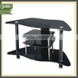 furniture modern design glass spray painting tv stand