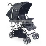 Twin Stroller Baby Twin Tandem Stroller Pushchair With EN1888