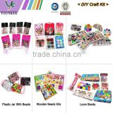 DIY Blister Packing Pony Beads,DIY sets Letter Beads,DIY Education wooden toy beads