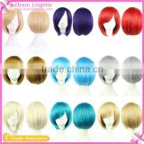 Wholesale Short Shoulder Length Free Lace Wig Samples