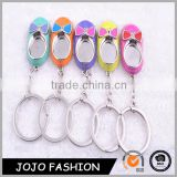 Hot Sale Baby Shoes Keychain Novelty Items Cute Key Holder for Women Llaveros