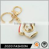 Hot Selling CrystalT Shirt Keychain,New Design Football Sport Keychain/
