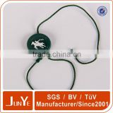 China Factory Clothing Plastic String Hang Tag With Logo Design Printing