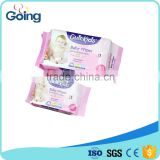 Popular baby cleaning wet tissue gygiene soft wet napkin economic packing 80s wet wipes top quality