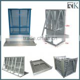 2014 Hot Sale China Manufacturer Aluminum Used Crowd Control Barrier Supplier