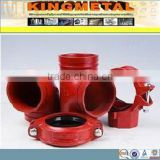FM UL Approved Fire Protection Sprinkler System red color Fire Fighting Hardware Fittings
