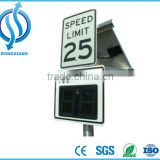 Hot Portable Road Safety Traffic Solar Powered Electronic Radar Speed Limit Warning Sign