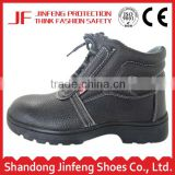 black leather cement ISO CE safety work shoes steel toe safety footwear industrial men's safety shoes price in russia