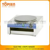 Non-stick coating round crepe maker,electric crepe maker,gas crepe maker