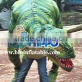Walking Animatronics Realistic Dinosaur Costume for sale