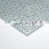 clear polycarbonate sheet diamond polycarbonate sheet solid sheet PC22 embossed sheet china supplier