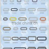Rings, Loops, Thread Fasteners