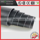 Top quality Air Bubble-Free vinyl Decal Film Roll Full car wrap 1.52*30M Black Vinyl Wrap