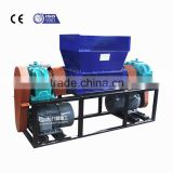 China products barrel products shredder,large plastic pipes shredder,barrel products crushing machine