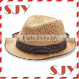 Plain cheap wholesale straw lifeguard hats