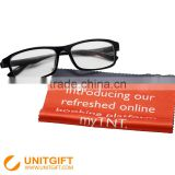 China factory wholesale mini microfiber logo print microfiber lens cleaning cloth glasses