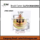 new product brush cutter clutch drum series 77.5mmx47.8mm, spare parts for grass trimmer