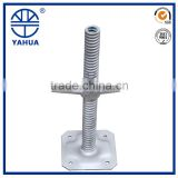 Galvanized Scaffolding Jack Base / scaffold leveling screw jacks