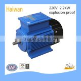 high quality Explosion proof Motor 220V/ Single-phase motor