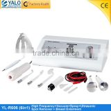YL-R606 6 in1vacuum spray spot removal high frequency ultrasonic breast enlarge beauty salon equipment