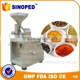 High quality stainless steel SF180 wood herb grinder lab pulverizer