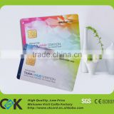top quality plastic pvc material credit card size contact key card from China printing manufacturer