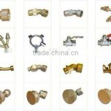 brass sprayer nozzle parts, cone nozzle and fan nozzle etc. sprayer parts for agriculture and garden sprayer, paint sprayer etc.